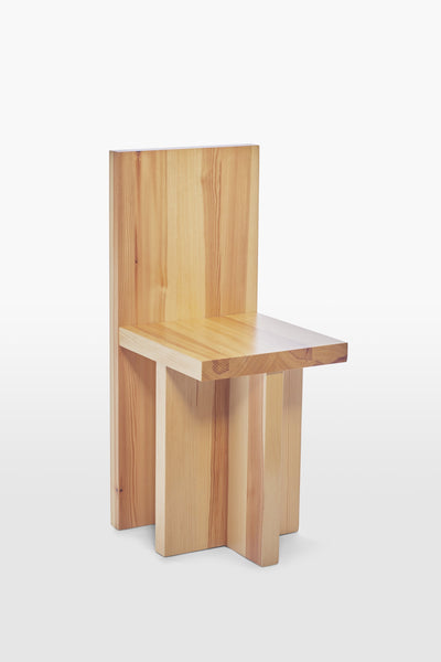 Pony <br> Chair <br> Pine Wood <br> Nature