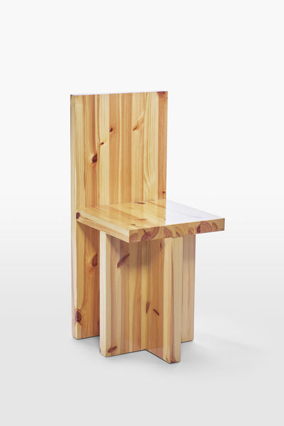 Pony <br> Chair <br> Pine Wood <br> Laquered