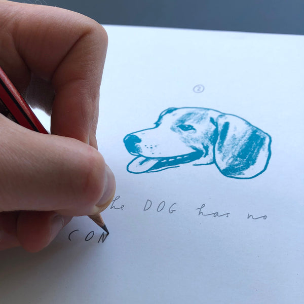 I am jealous of the dog - Hand finished edition - Artist Proof