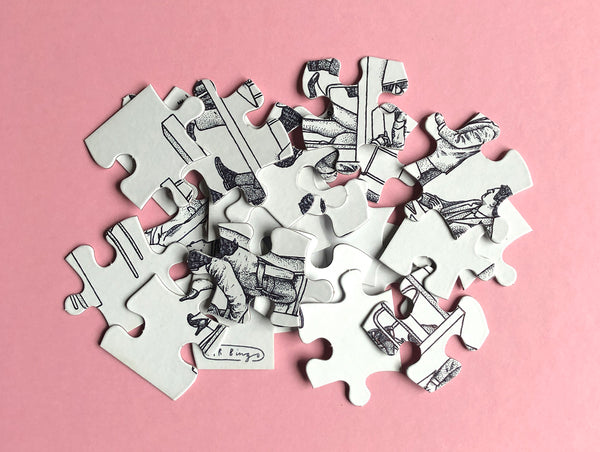 Mystery jigsaw puzzle 01
