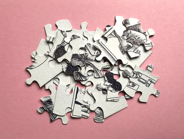 Mystery jigsaw puzzle 02