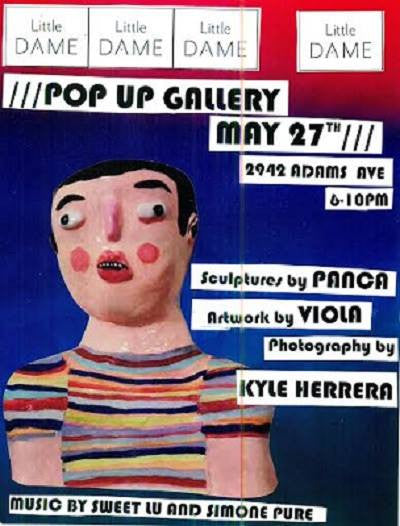 Pop Up Gallery // May 27, 2016