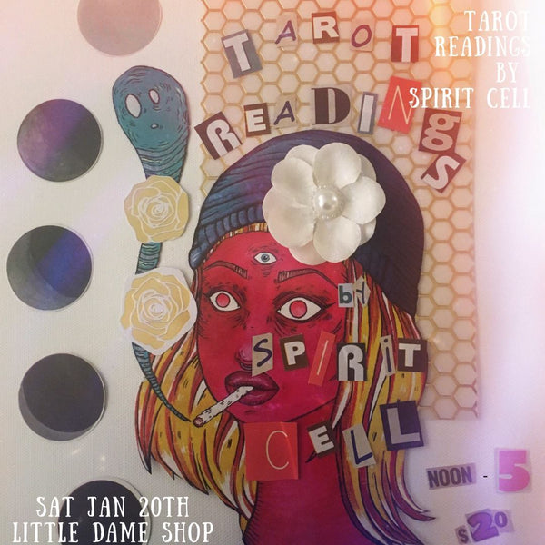 Tarot Readings // Jan. 20, 2018 || Past Event ||