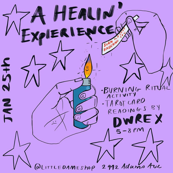 A Healin' Experience // Cleansing Pop Up // Jan. 25, 2019