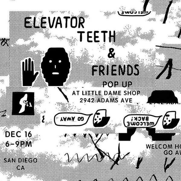 elevator teeth and friends | Little Dame