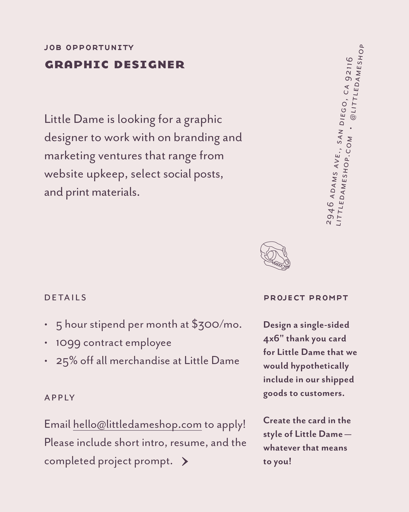 Graphic-designer-position-little-dame