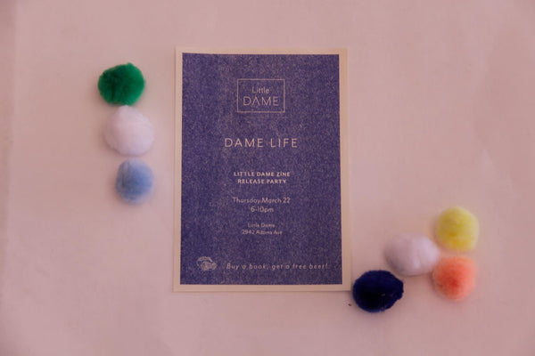 Zine Release Party | Little Dame