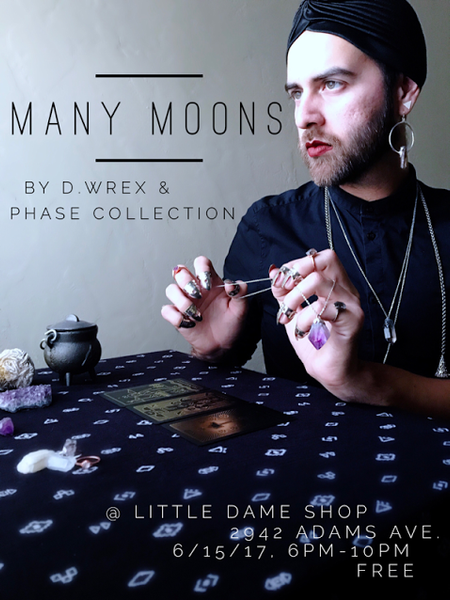MANY MOONS by D WREX & PHASE Collection