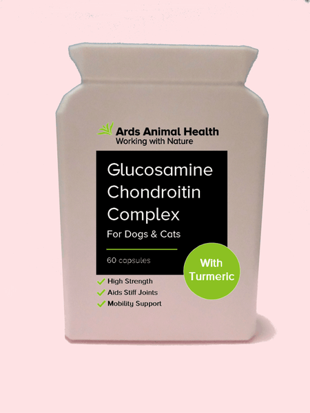 Glucosamine & Chondroitin Complex with Tumeric for Dogs & Cats