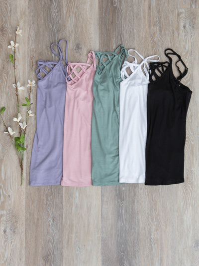 Claire Caged Cami - Multiple Colors