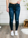 Katy Frayed Ankle Length Skinny Jeans