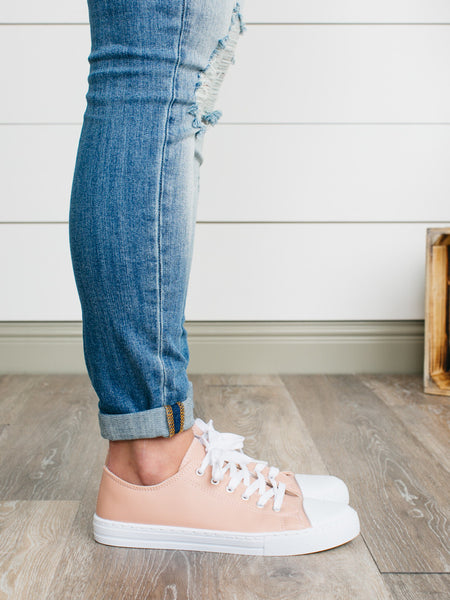 Favorite Low Top Sneakers - Blush