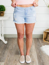 All Summer Long Shorts - Light Wash