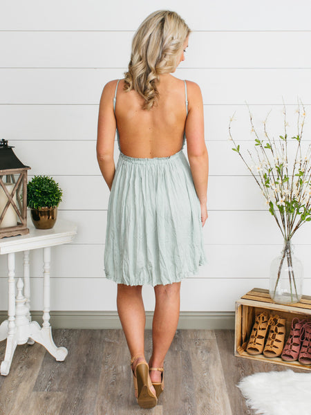 Lily Belle Lace Dress - Sage