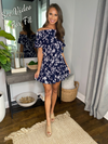 Spin Me Around Dress - Navy