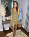 Never Ending Summer Dress - Olive
