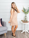 Find Me Tonight Lace Dress - Tan
