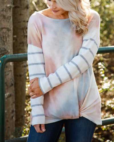 Cool In California Top - Pink