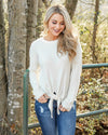 Endless Nights Sweater - Ivory