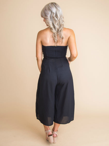 All My Dreams Jumpsuit - Black