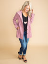 Something to Change Your Mind Jacket -Deep Mauve
