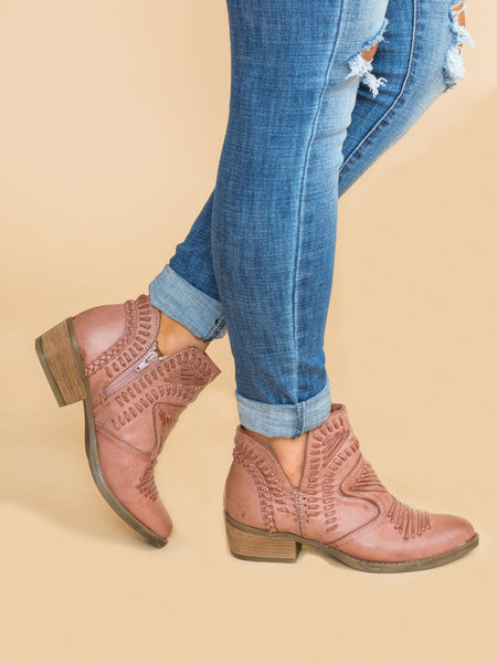 Not Rated McKinley Bootie - Rose