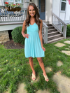Spring Crush Dress - Mint