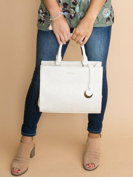 The Alina Handbag - Off White