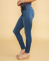 Abbie Maternity Jeans - Dark Wash