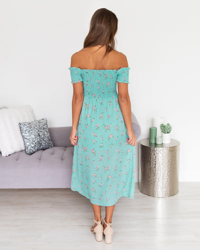 Always Blooming Dress - Mint