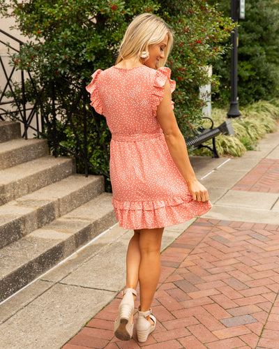 Always Delightful Dress - Peony