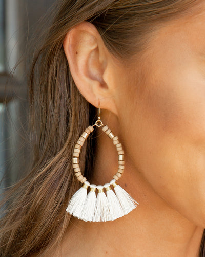 Annabeth Earrings - Ivory