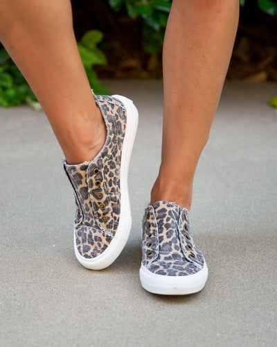 Annalyse Slip On Tennis Shoe - Leopard
