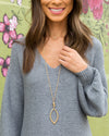 Asher Statement Necklace - Gold