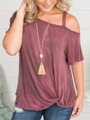 Gracelynn Tassel Necklace - Fuchsia