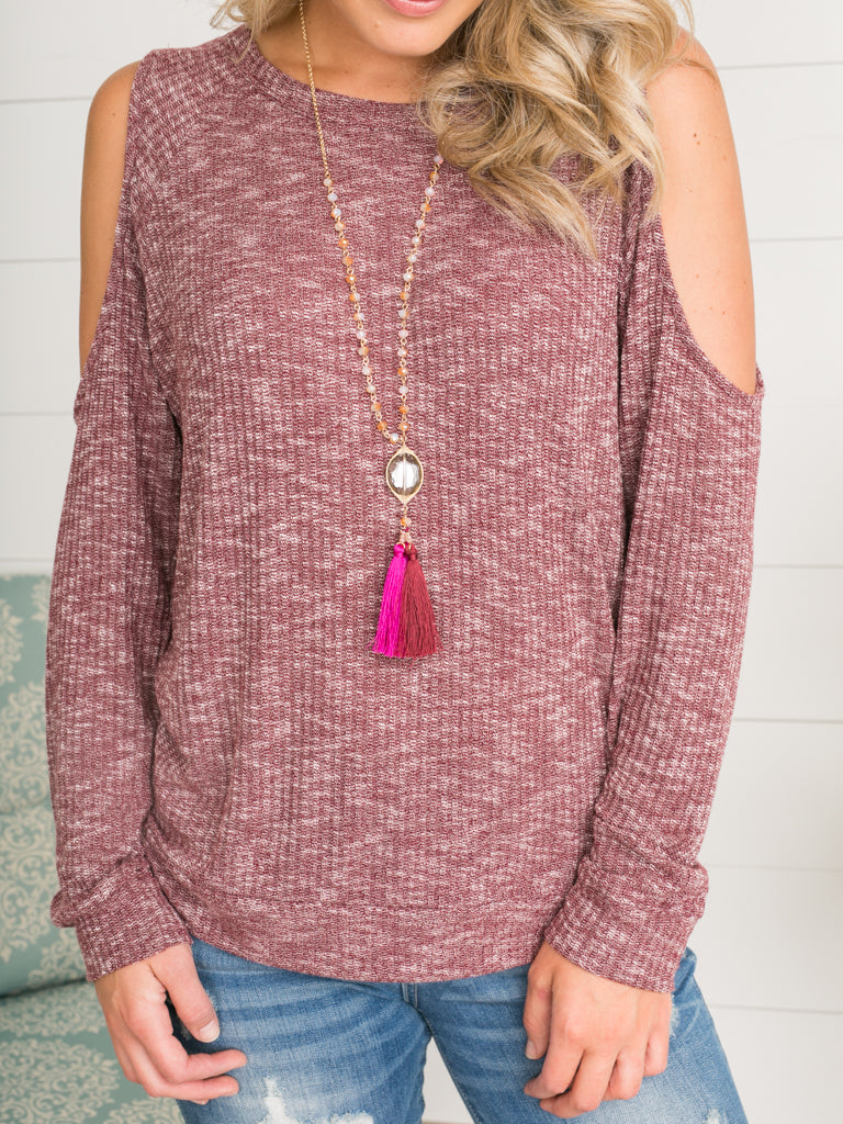 Gracelynn Tassel Necklace - Multiple Colors
