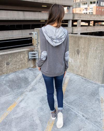 Back In Action Hoodie - Charcoal