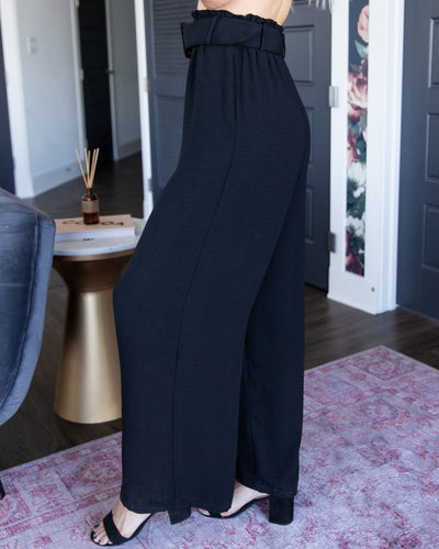 Back In The Office Pants - Black