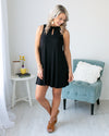 Beachside Beauty Dress - Black
