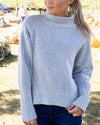 Believe In You Sweater - Grey