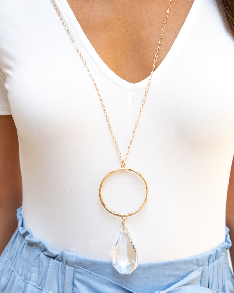 Bennett Statement Necklace - Gold