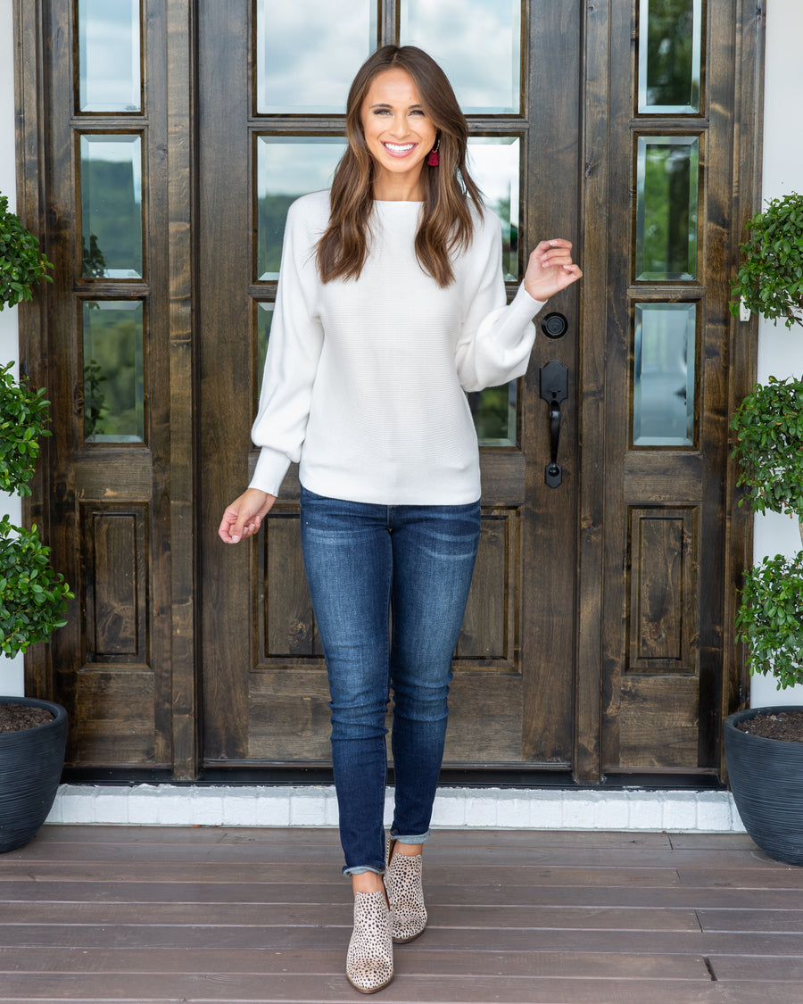 Best In Class Sweater - Ivory