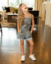 Born To Lead Romper - Camo