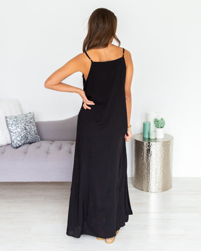 Breeze Through The Day Maxi - Black