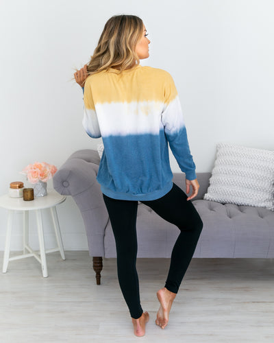 Brings Me Happiness Pullover - Multi