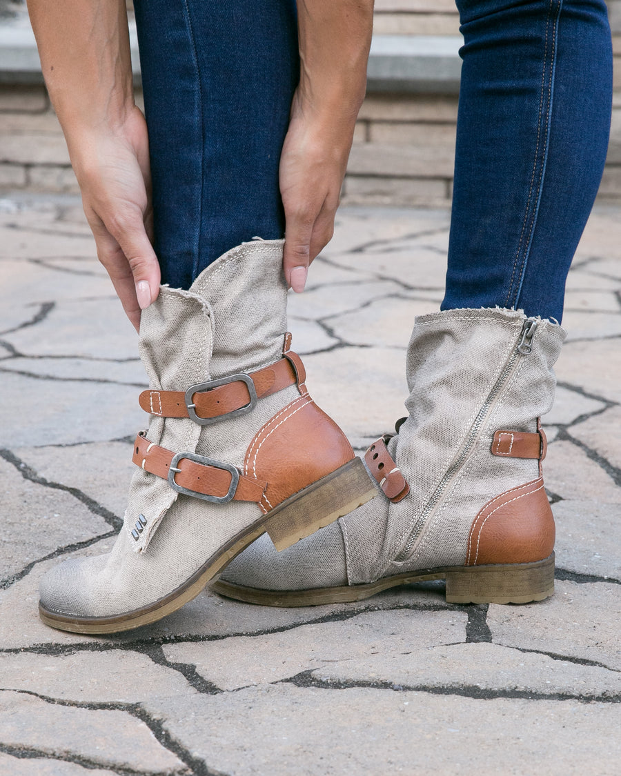 Chinese Laundry Brooklyn Boots - Taupe