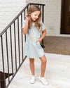 By The Bay Dress - Light Blue