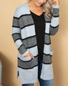 By The Fire Cardigan - Grey