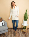 Call It A Day Pullover - Cream