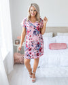 Can't Help Falling In Love Dress - Mauve